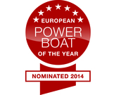 Nomination DELPHIA 1080 soley - European Powerboat of the Year Award 2014!